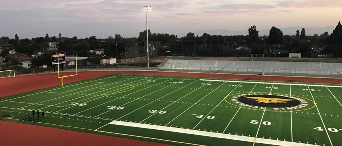 The new Michael A. Monsoor Memorial Stadium was funded by Measure P and opened in September 2017.