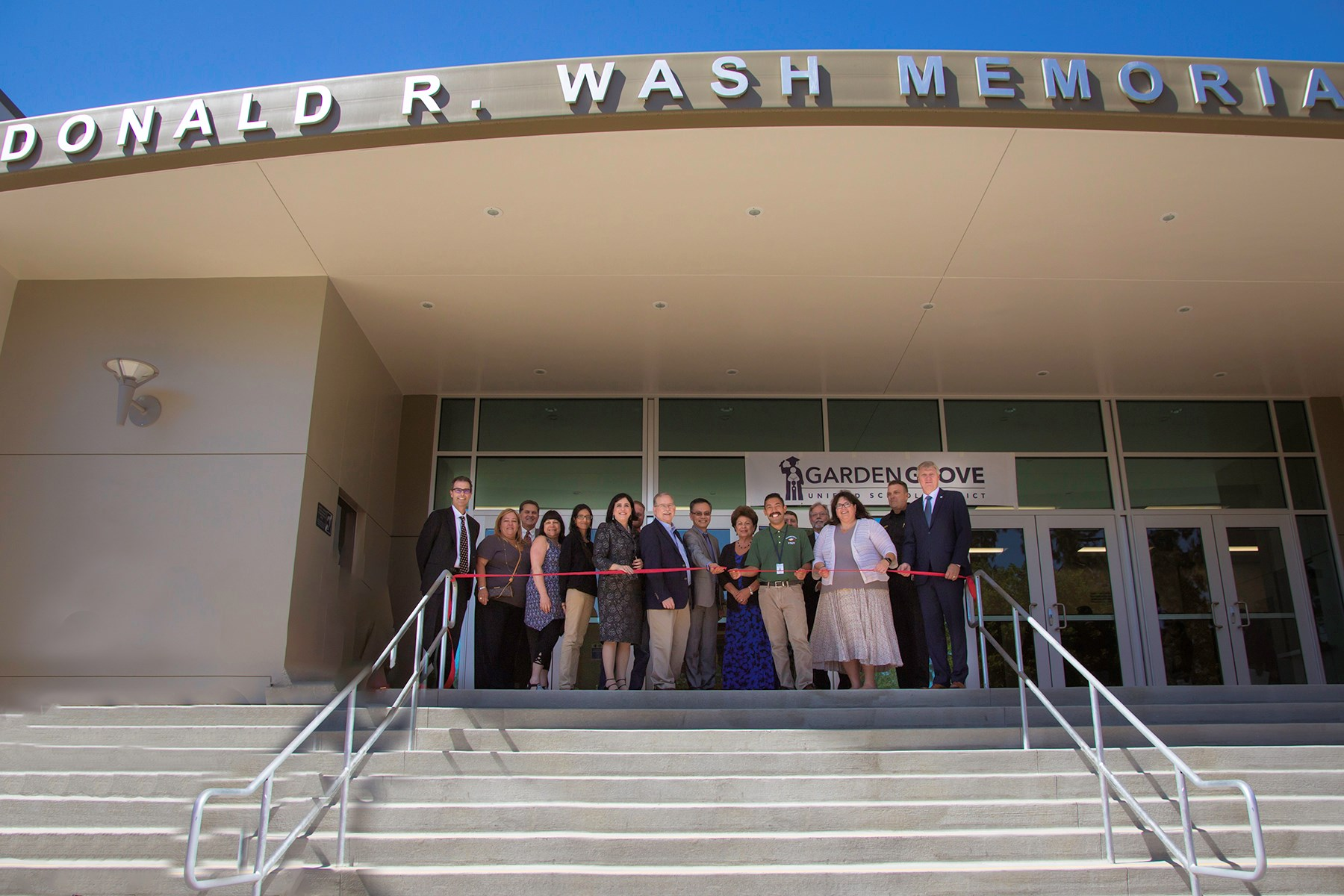 Don Wash Ribbon Cutting